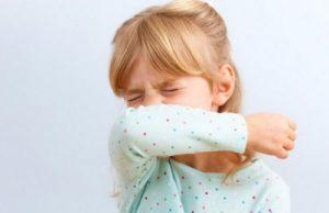 Сухой приступообразный кашель у ребенка