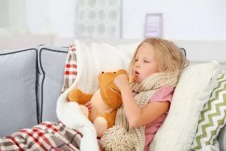 У ребенка хриплый кашель