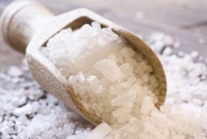 Прогревание солью при кашле