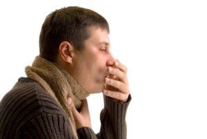 Глотать мокроту при кашле